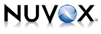NuVox logo